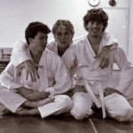 Karlstad shibu about 1985. From the left Anders Pettersson, Mikael Sjödin & Peter Malmberg.