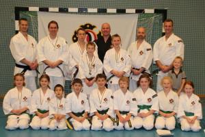 Alla deltagare från Karlstad shibu
