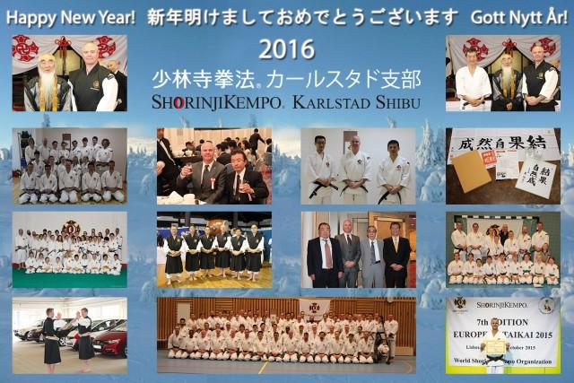 Gott nytt år från Shorinji Kempo Karlstad Shibu