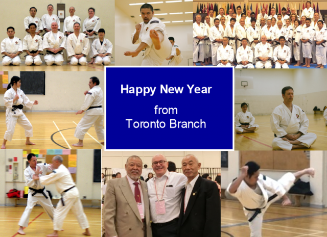 Happy New Year from Toronto Branch
