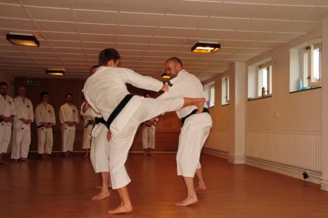 Träningsdag i Skövde, maj 2010.