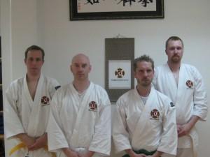 Kyū-gradering i juni 2010.