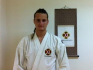 Mikael graderade till ikkyū, november 2010.