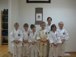 Gradering för barngruppen, december 2010.