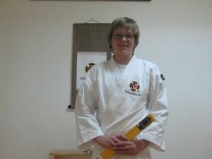 Daniel Wallberg  graderade till yonkyū