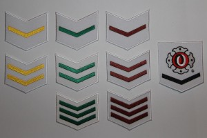 Bukai sodeshō (rank badges for children)