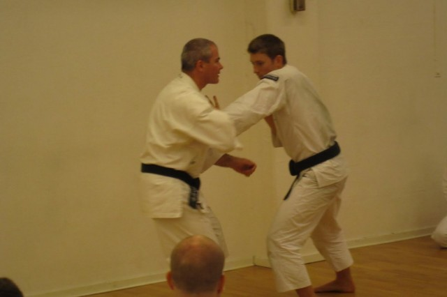 Anders-sensei teaching, here together with Arnaud Tiquet