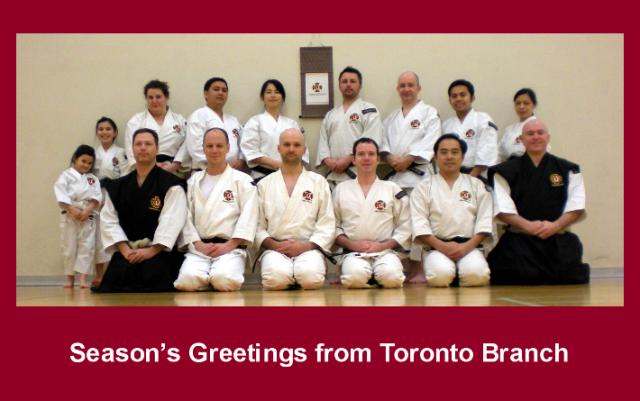 Season's Greetings from Toronto Branch