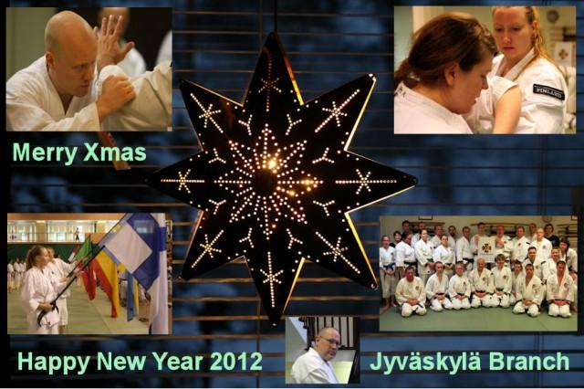Merry Xmas Happy New Year 2012 - Jyväskylä Branch