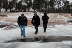 Vågar vi gå ut på isen?