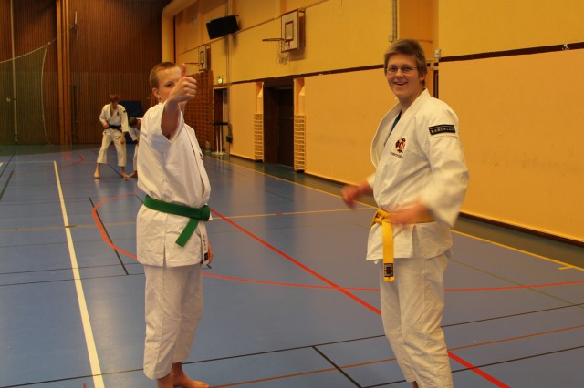 Daniel with Richard from Skövde
