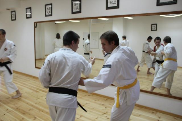 Andreas från Skövde tränar tillsammans med Christer