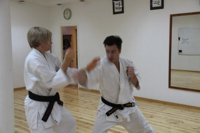 Vår egen Ann-Christine tränar med Pontus Liljequist