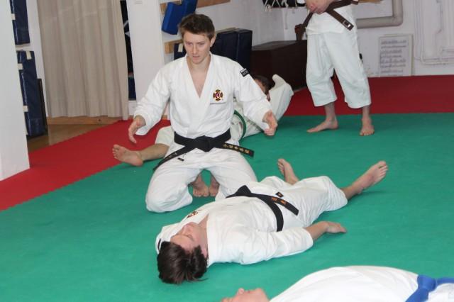 Arnaud-sensei undervisar seihō