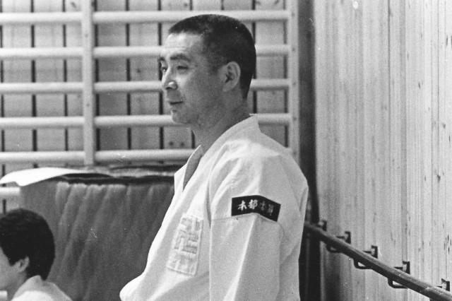 Morikawa Zeoh sensei undervisar vid besök i Stockholm någon gång under 1970-talet
