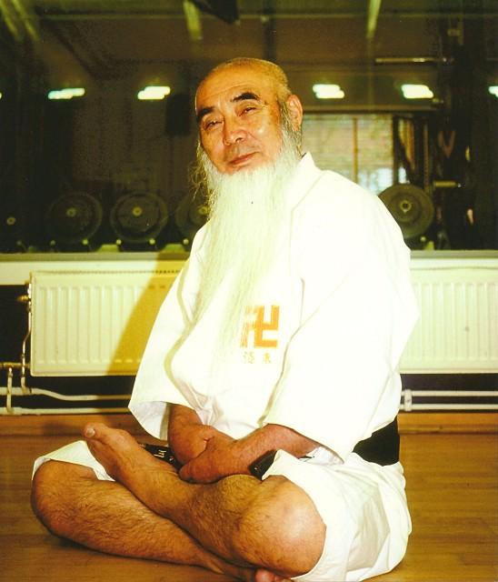 Morikawa Zeoh sensei under Svenska Shorinji Kempoförbundets 30-årsjubileum, september 2000 i Stockholm