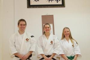 Christer, Alva & Maja efter graderingen