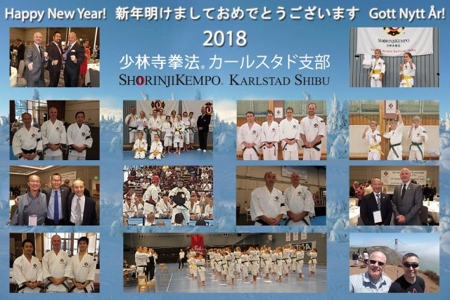Happy New Year from Shorinji Kempo Karlstad Shibu